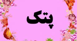 معنی اسم پتک – نام پتک – زیباترین اسم های دخترانه ترکی