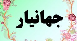 معنی اسم جهانیار – معنی جهانیار – نام پسرانه فارسی