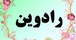 معنی اسم رادوین – معنی رادوین – نام پسرانه ریبای فارسی