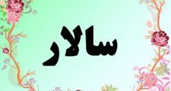 معنی اسم سالار- معنی سالار – نام پسرانه فارسی