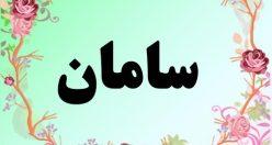 معنی اسم سامان – معنی سامان – نام پسرانه اصیل فارسی