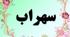 معنی اسم سهراب – معنی سهراب – نام پسرانه فارسی