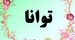 معنی اسم توانا – معنی توانا – نام پسرانه فارسی