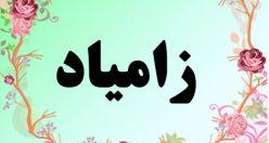 معنی اسم زامیاد – معنی زامیاد – نام پسرانه فارسی