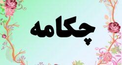 معنی اسم چکامه – معنی چکامه – نام زیبای دخترانه فارسی