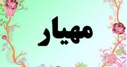 معنی اسم مهیار – معنی مهیار – نام پسرانه فارسی