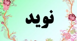 معنی اسم نوید – معنی نوید – نام پسرانه فارسی