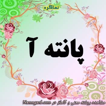 معنی نام پانته آ – معنی پانته آ – نام دخترانه فارسی