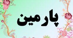 معنی اسم پارمین – معنی پارمین – نام دخترانه فارسی
