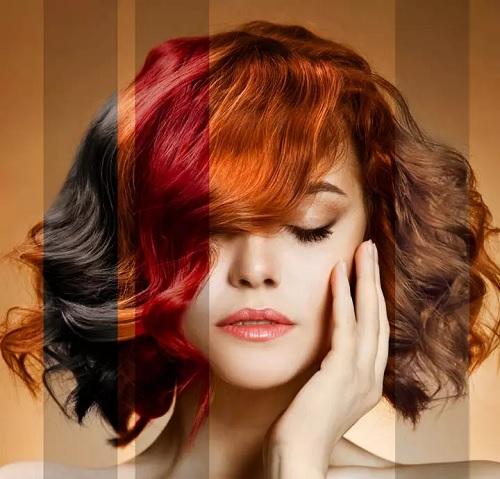 روش انتخاب بهترین رنگ موی مناسب برای انواع رنگ پوست