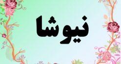 معنی اسم نیوشا – معنی نیوشا – نام زیبای دخترانه فارسی