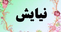 معنی اسم نیایش – معنی نیایش – نام زیبای دخترانه فارسی