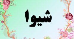 معنی اسم شیوا – معنی شیوا – نام زیبای دخترانه فارسی