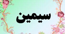 معنی اسم سیمین – معنی سیمین – نام زیبای دخترانه فارسی