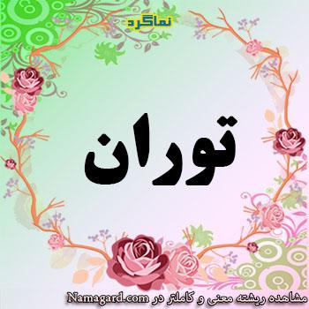 معنی اسم توران – معنی توران – نام ریبای دخترانه فارسی