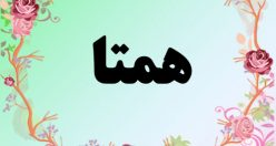 معنی اسم همتا  – معنی همتا – نام زیبای دخترانه فارسی
