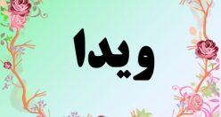 معنی اسم ویدا – معنی ویدا – نام زیبای دخترانه فارسی