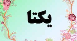 معنی اسم یکتا – معنی اسم یکتا – نام زیبای دخترانه فارسی