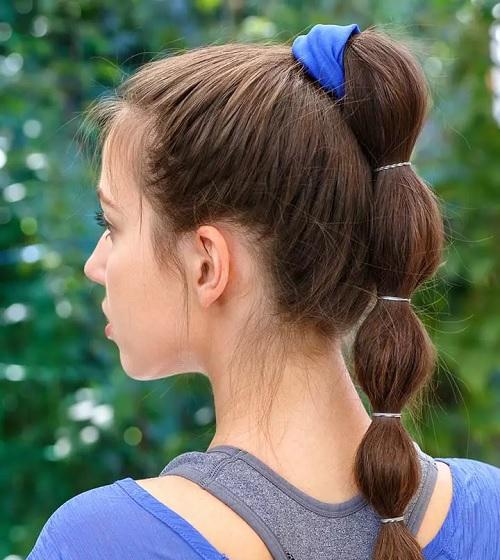 آموزش ۱۱ مدل موی دم اسبی پفی زیبا و جذاب