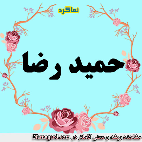 معنی اسم حمیدرضا – معنی حمیدرضا – نام زیبای پسرانه عربی