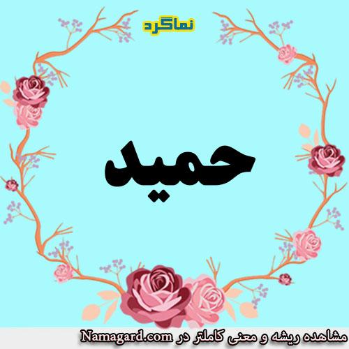 معنی اسم حمید – معنی حمید  – نام  پسرانه عربی