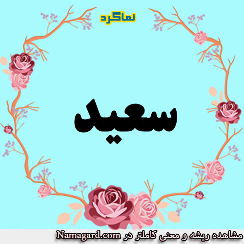 معنی اسم سعید – معنی سعید – نام زیبای پسرانه عربی