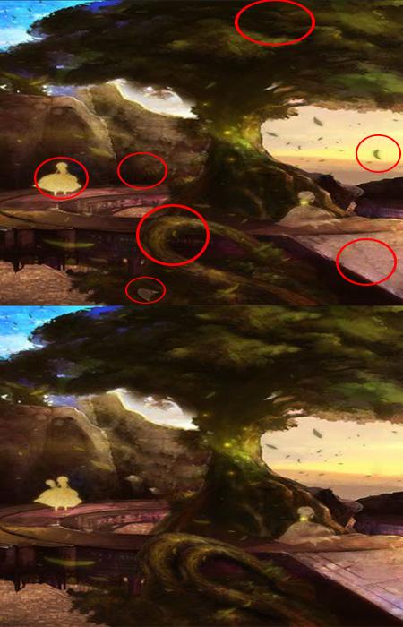 2 تست هوش حدس اختلاف بین تصویرها (10) -جواب تست 2