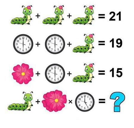 ۲ تست هوش پیدا کردن عدد به جای علامت سوال + جواب