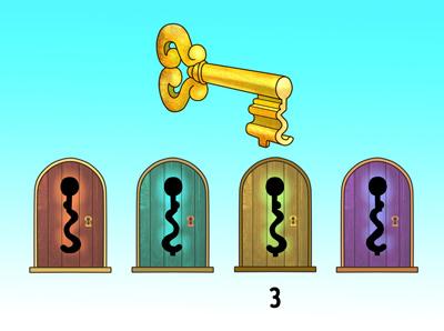 5 معمای تصویری برای افراد با دقت و باهوش، جواب شماره 1