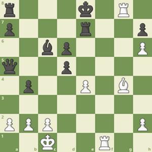 جواب معمای جذاب حرکت شطرنج برای شطرنج بازها