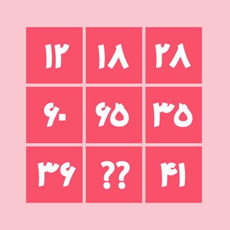 معمای ریاضی پیدا کردن عدد مجهول برای باهوش ها + جواب