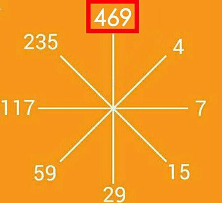 پاسخ تست هوش بازی با ریاضی و پیدا کردن عدد مجهول