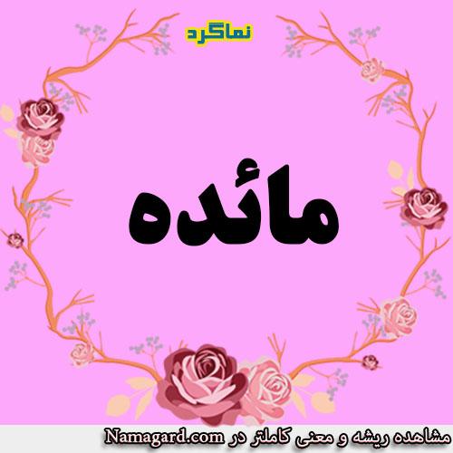 معنی اسم مائده – معنی مائده – نام زیبای دخترانه عربی