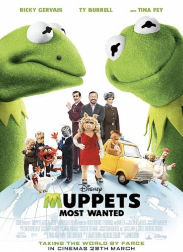 دانلود فیلم کارتونی ماپت های تحت تعقیب Muppets Most Wanted