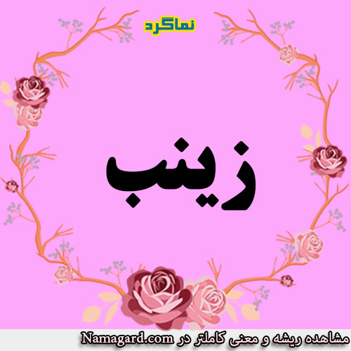 معنی اسم زینب – معنی زینب – نام زیبای دخترانه عربی