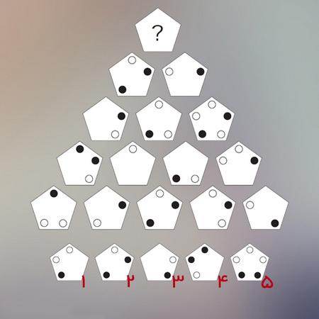 معمای چالشی پنج ضلعی برای باهوش ها + به همراه جواب