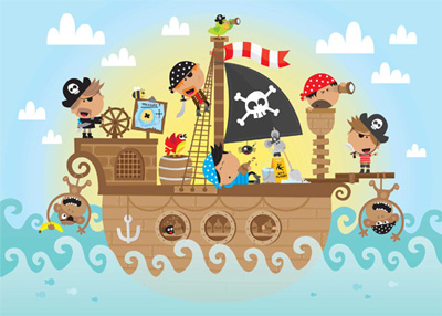 معمای مهیج ۵ دزد دریایی برای باهوش ها ! + با جواب