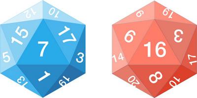 معمای مهیج تاس بیست وجهی برای تیزهوش ها !!! + جواب