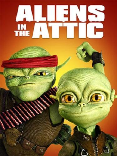 دوبله فارسی انیمیشن بیگانگان روی شیروانی Aliens in the Attic 2009