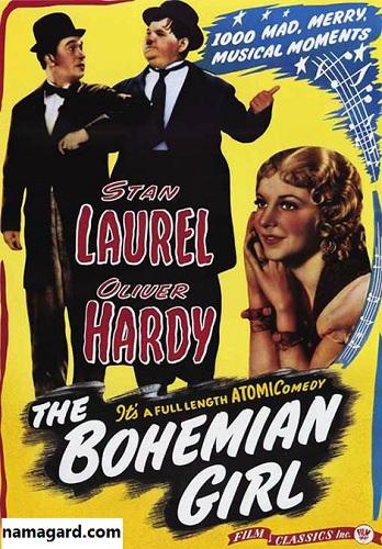 دانلود دوبله فارسی فیلم دختر کولی The Bohemian Girl 1936