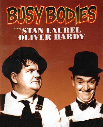 دانلود رایگان دوبله فارسی فیلم کمدی فضول باشی Busy Bodies 1933