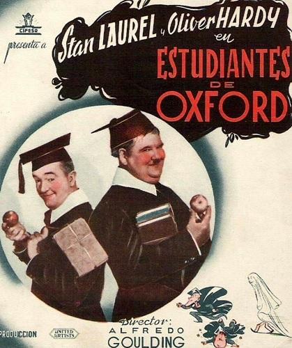 دوبله فارسی فیلم احمقها در آکسفورد A Chump at Oxford 1940