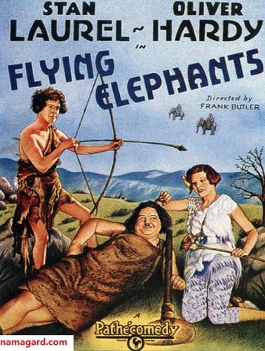 دانلود رایگان زبان اصلی فیلم پرواز فیل ها Flying Elephants 1928