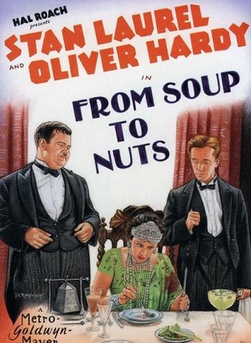 دانلود زبان اصلی فیلم از سوپ تا آجیل From Soup to Nuts 1928