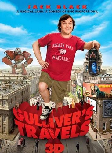 دانلود رایگان دوبله فارسی فیلم سفرهای گالیور ۲۰۱۰ Gulliver's Travels