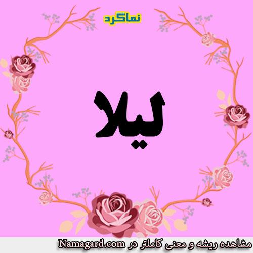 معنی اسم لیلا – معنی لیلا – نام زیبای دخترانه عربی