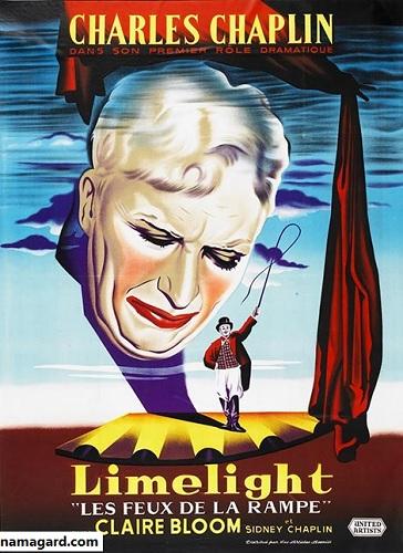 دانلود زبان اصلی فیلم موزیکال روشنی های صحنه Limelight 1952