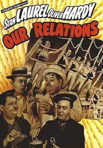 دانلود رایگان دوبله فارسی فیلم کمدی روابط ما Our Relations 1936