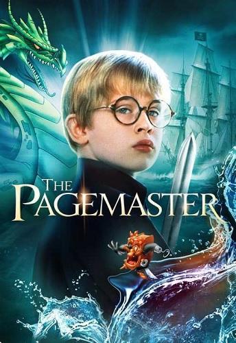 دوبله فارسی فیلم انیمیشنی ارباب برگه ها The Pagemaster 1994