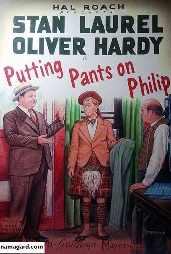دانلود رایگان زبان اصلی فیلم کمدی Putting Pants on Philip 1927
